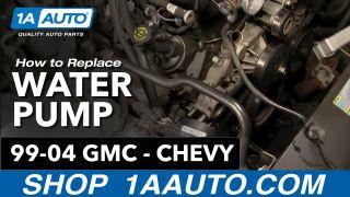 How to Replace Engine Water Pump 00-03 GMC Yukon