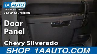 How To Remove Front Door Panel 07-13 Chevy Silverado 1500