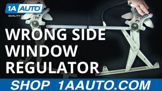 Dorman 752-299 Front Passenger Side Manual Window Regulator for Select Dodge Models