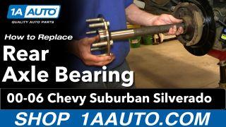 1999-2013 CHEVROLET SILVERADO 1500 Rear Wheel Bearing For Axle Repair only PAIR