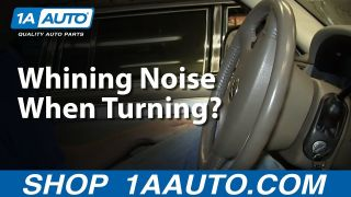 Whining or Squealing Noise When Turning Car Truck or SUV Steering Wheel
