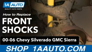 How To Replace Front Shocks 01-10 GMC Sierra 2500 HD