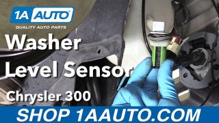 How to Replace Washer Level Sensor 05-10 Chrysler 300