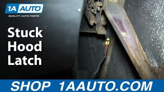 What To Do If You Have a Stuck Hood Latch Or Hood Wont Open