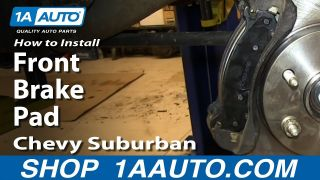 How to Replace Front Brake Pads 00-06 Chevy Suburban