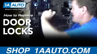 How To Install Replace Door Locks Chevy GMC Truck Silverado Sierra Yukon Tahoe Suburban - 1AAutocom