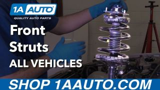 How to Install or Replace Front Struts on Any Vehicle Full Guide