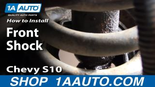 How to Replace Shock Absorber 83-04 Chevy S10 Pickup