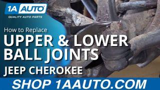 1ASFK00492-Jeep Cherokee Comanche (MJ) Steering & Suspension Kit 11 Piece  Set