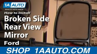 1AZMA00005-Ford Mirror Wiring Adapter Pair on