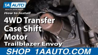 How To Replace 4WD Transfer Case Shift Motor 02-09 Chevy Trailblazer