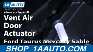 How to Replace Vent Mode Actuator 96-07 Ford Taurus