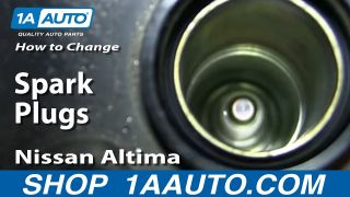How to Replace Spark Plug 02-06 Nissan Altima