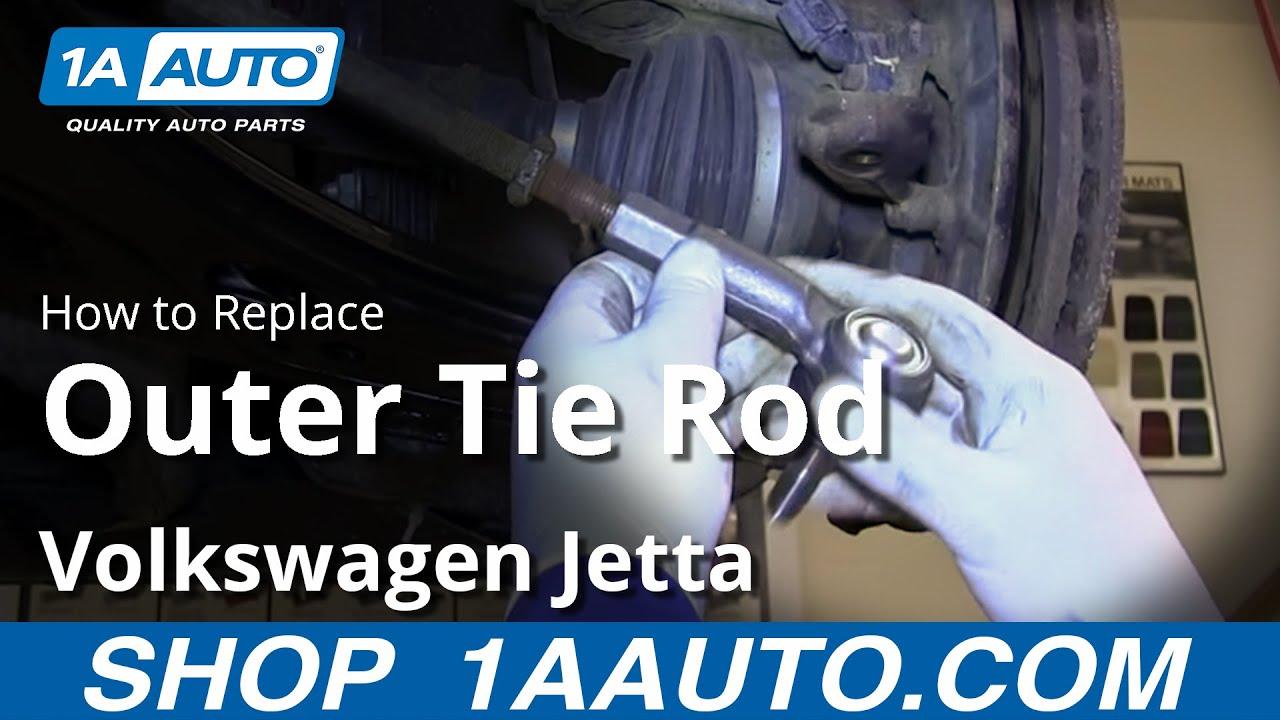How to Replace Tie Rod End 99-05 Volkswagen Jetta