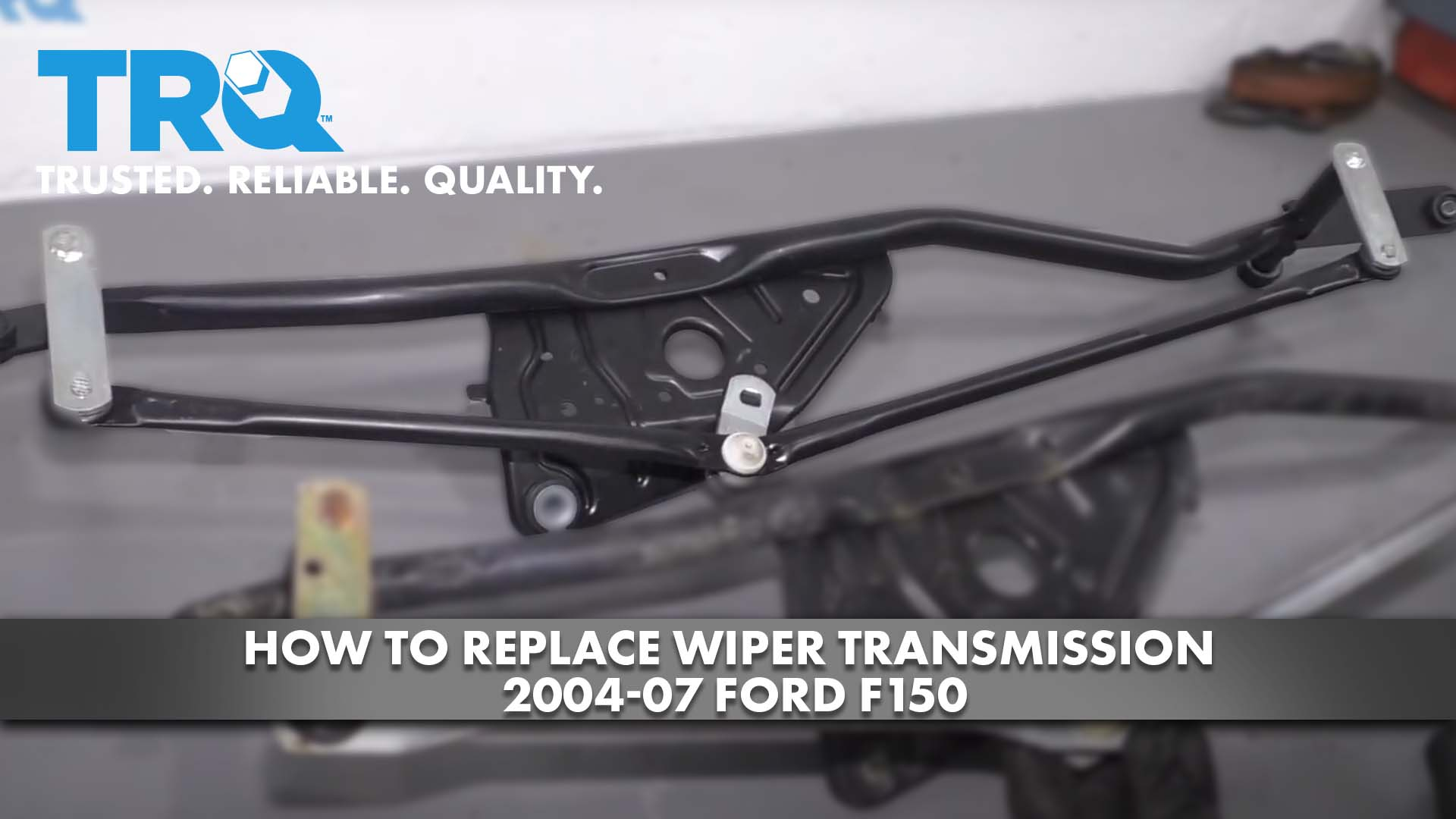 How to Replace Wiper Transmission 2004-07 Ford F150