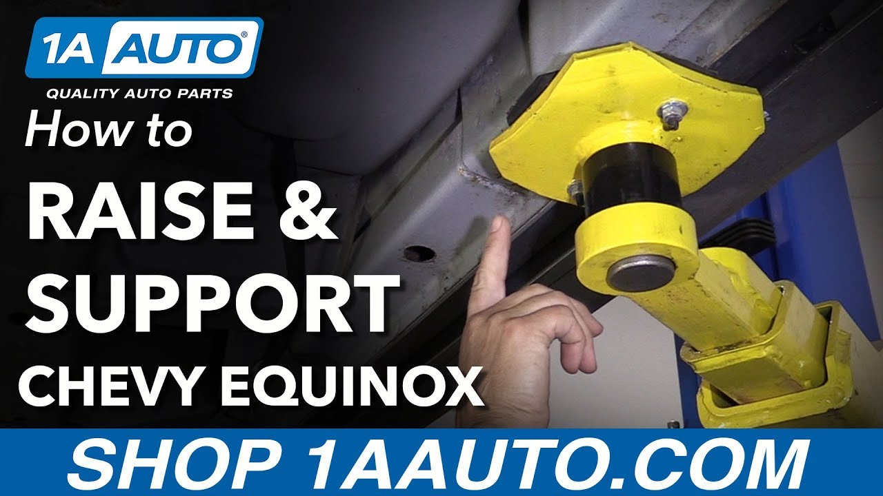 How to Raise and Support 10-17 Chevy Equinox