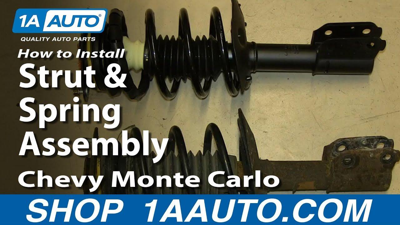 How to Replace Front Struts 00-07 Chevy Monte Carlo