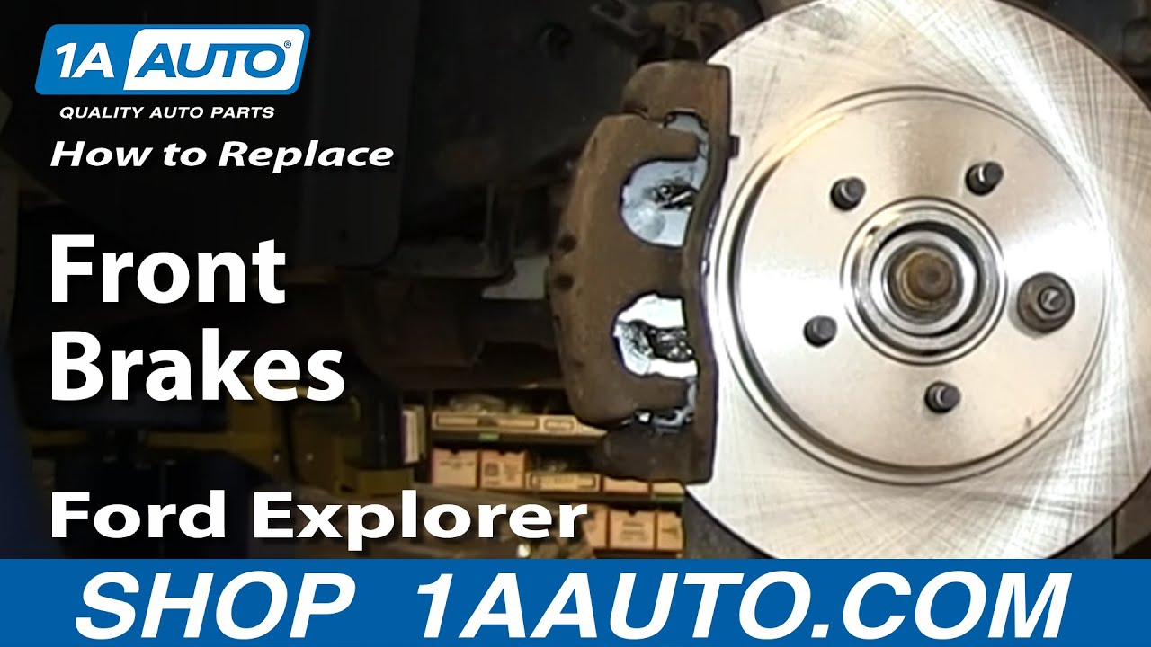 How to Replace Front Brakes 02-05 Mercury Mountaineer