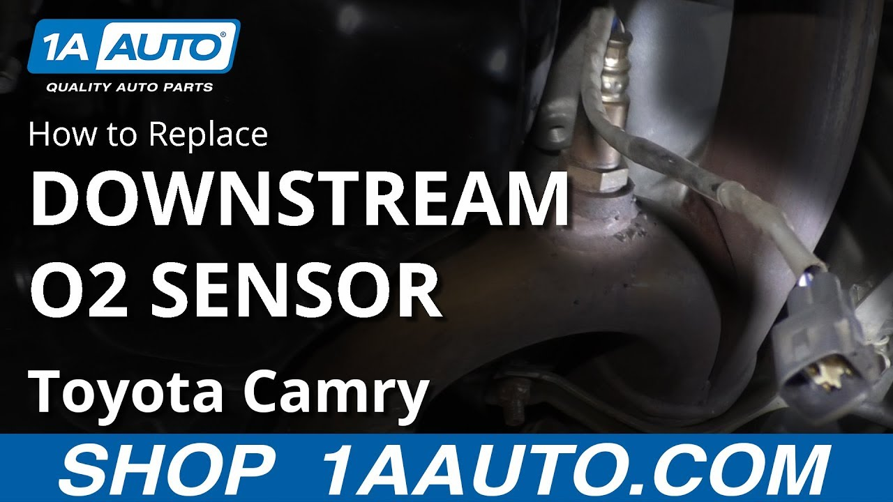 How to Replace O2 Oxygen Sensor 02-13 Toyota Camry