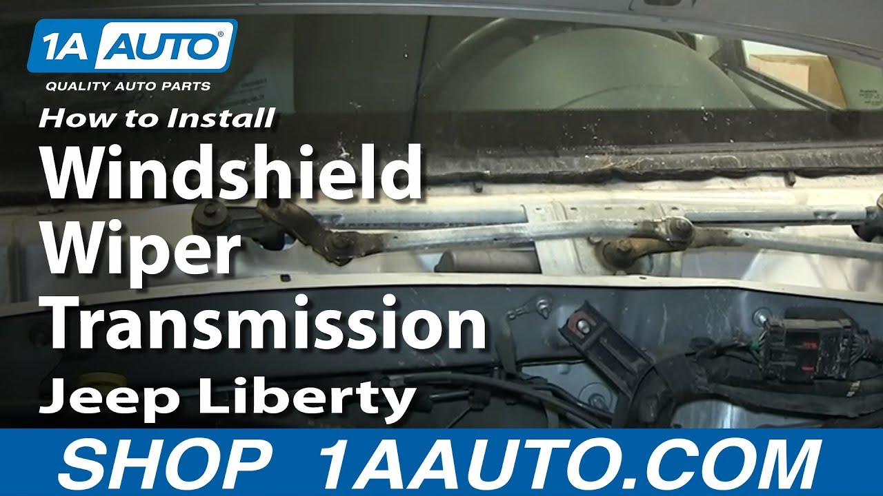 How To Replace Wiper Transmission 02-07 Jeep Liberty