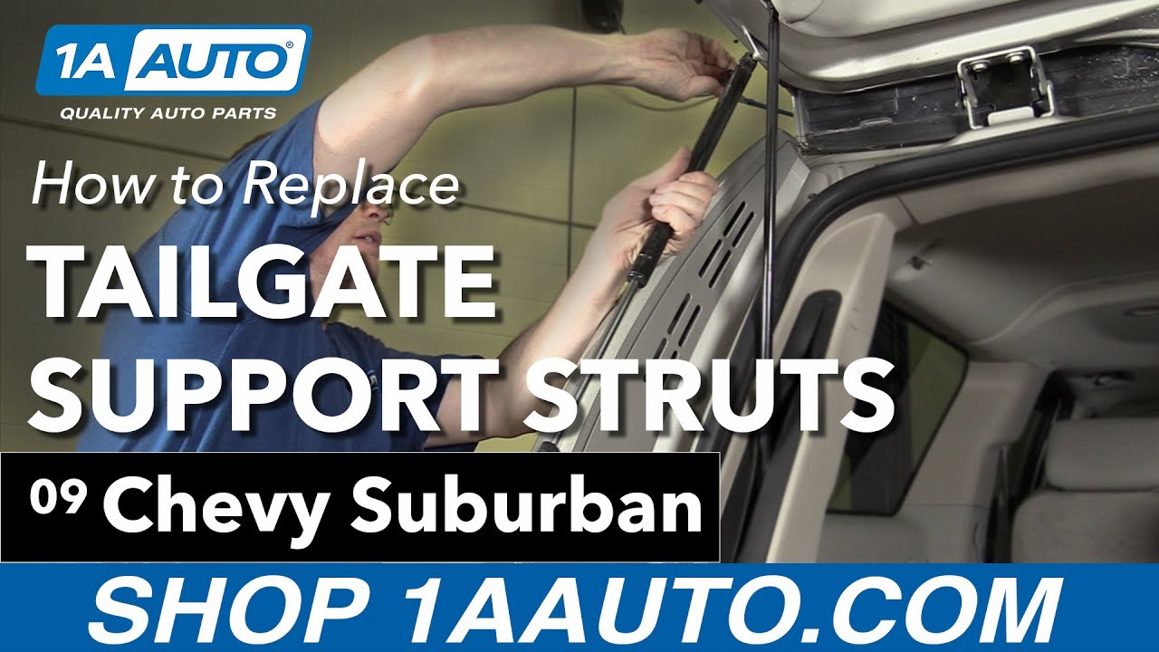 How to Replace Tailgate Support Struts 07-14 Chevy Suburban