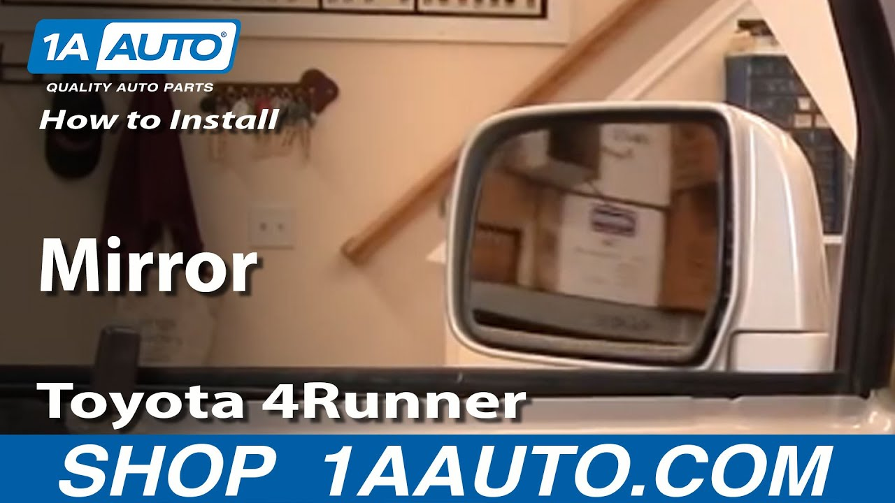 How to Replace Mirror 97-99 Toyota 4Runner