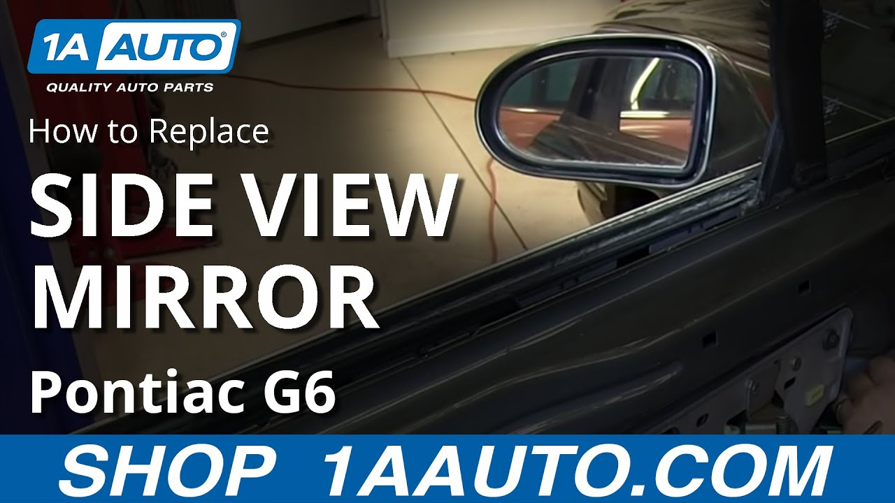 How to Replace Side Rear View Mirror 92-99 Buick LeSabre