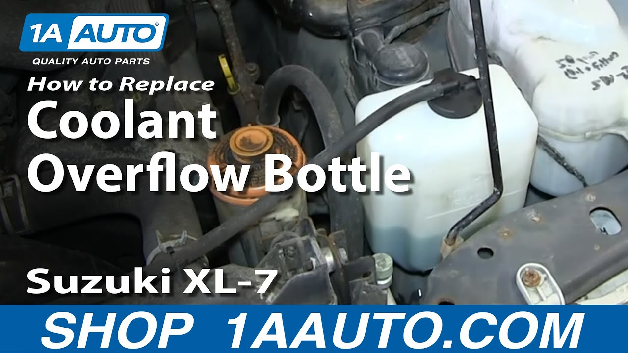 How to Replace Coolant Overflow Bottle 02-06 Suzuki XL-7