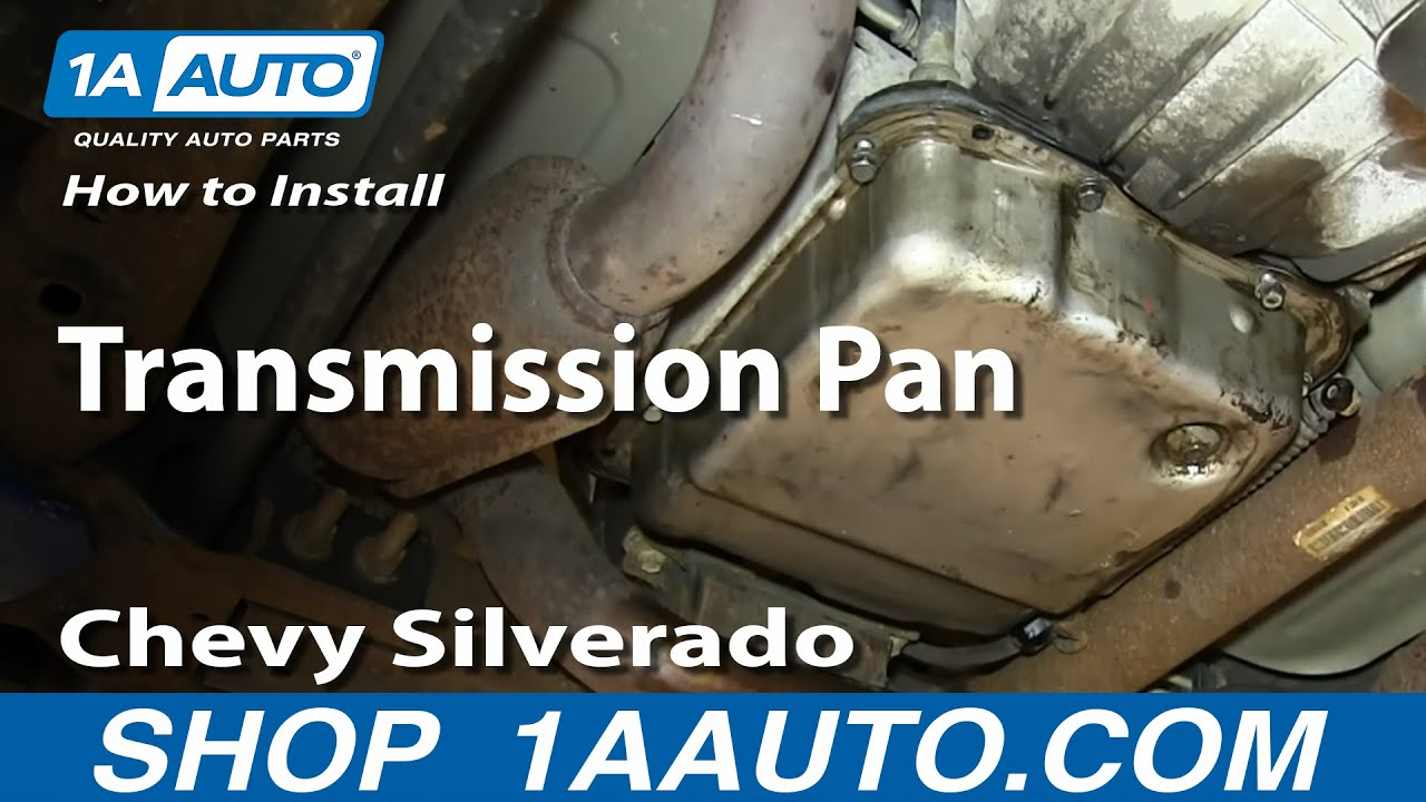 How to Replace Transmission Oil Pan 99-13 Chevy Silverado 1500