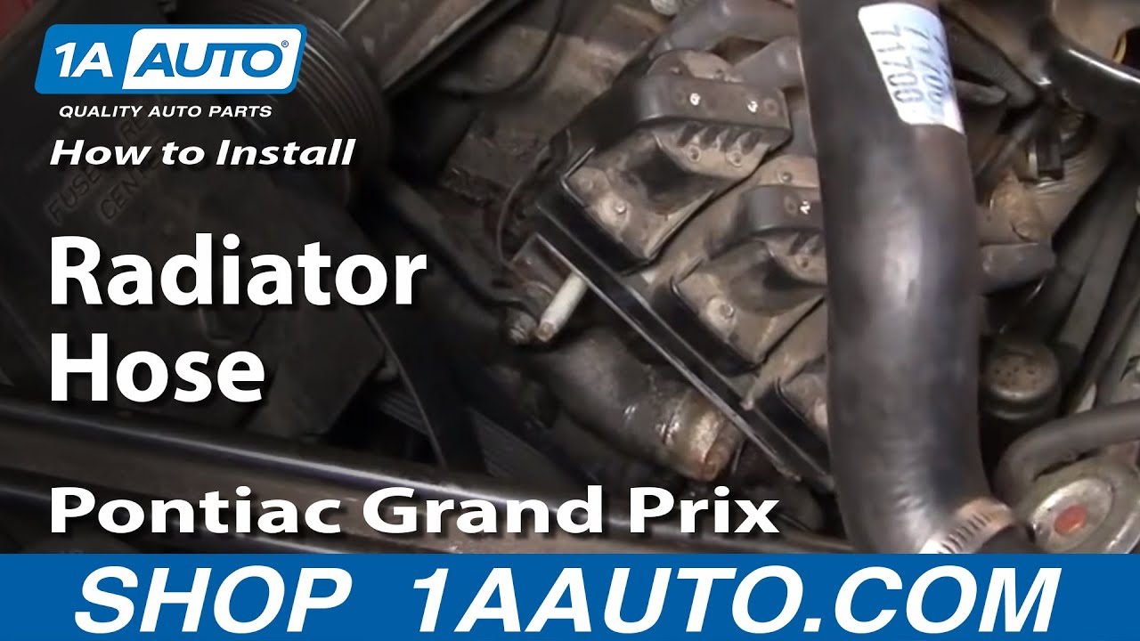 How to Replace Radiator Hose 97-08 Pontiac Grand Prix