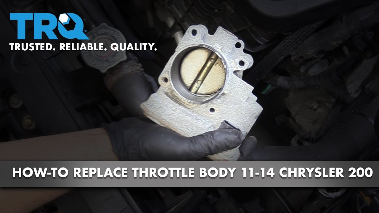 How to Replace Throttle Body 11-14 Chrysler 200