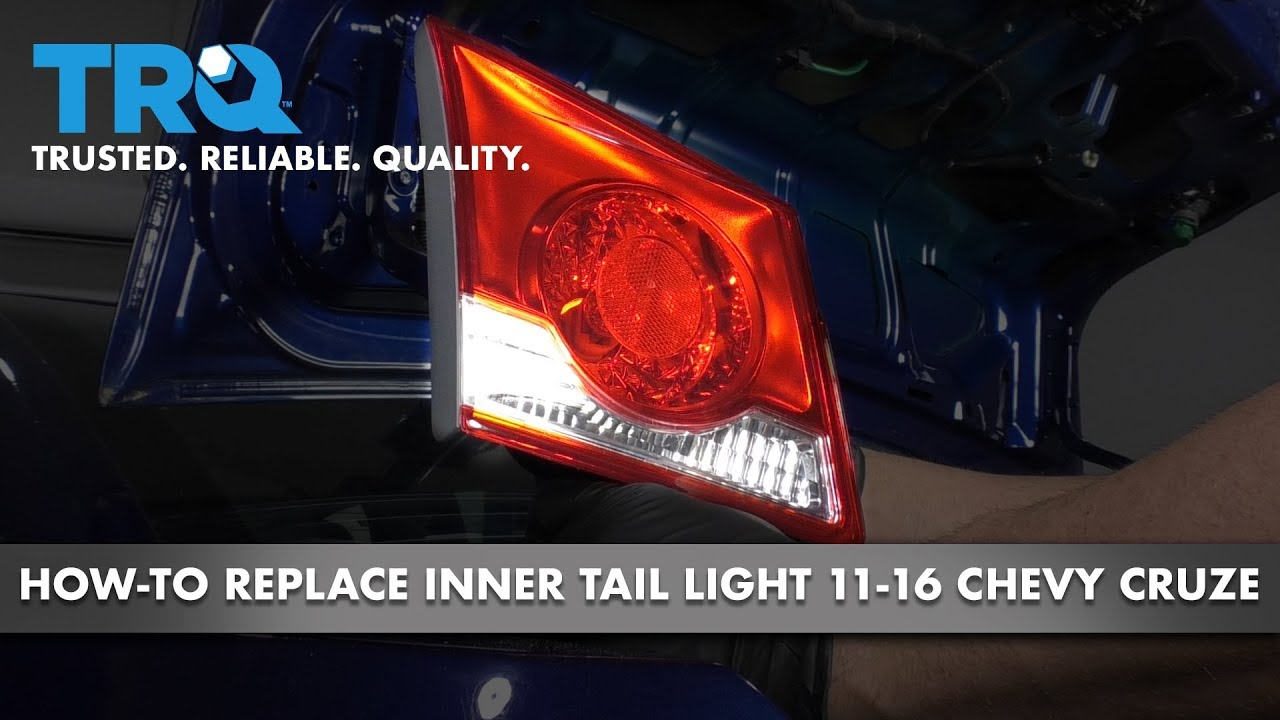 How to Replace Inner Tail Light 11-16 Chevy Cruze