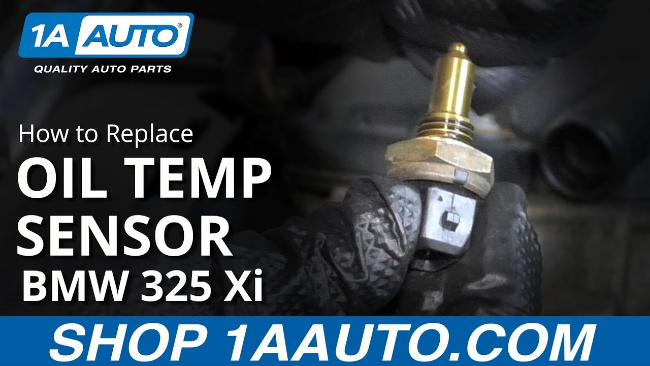 How to Replace Oil Temperature Sensor 97-06 BMW 325 Xi