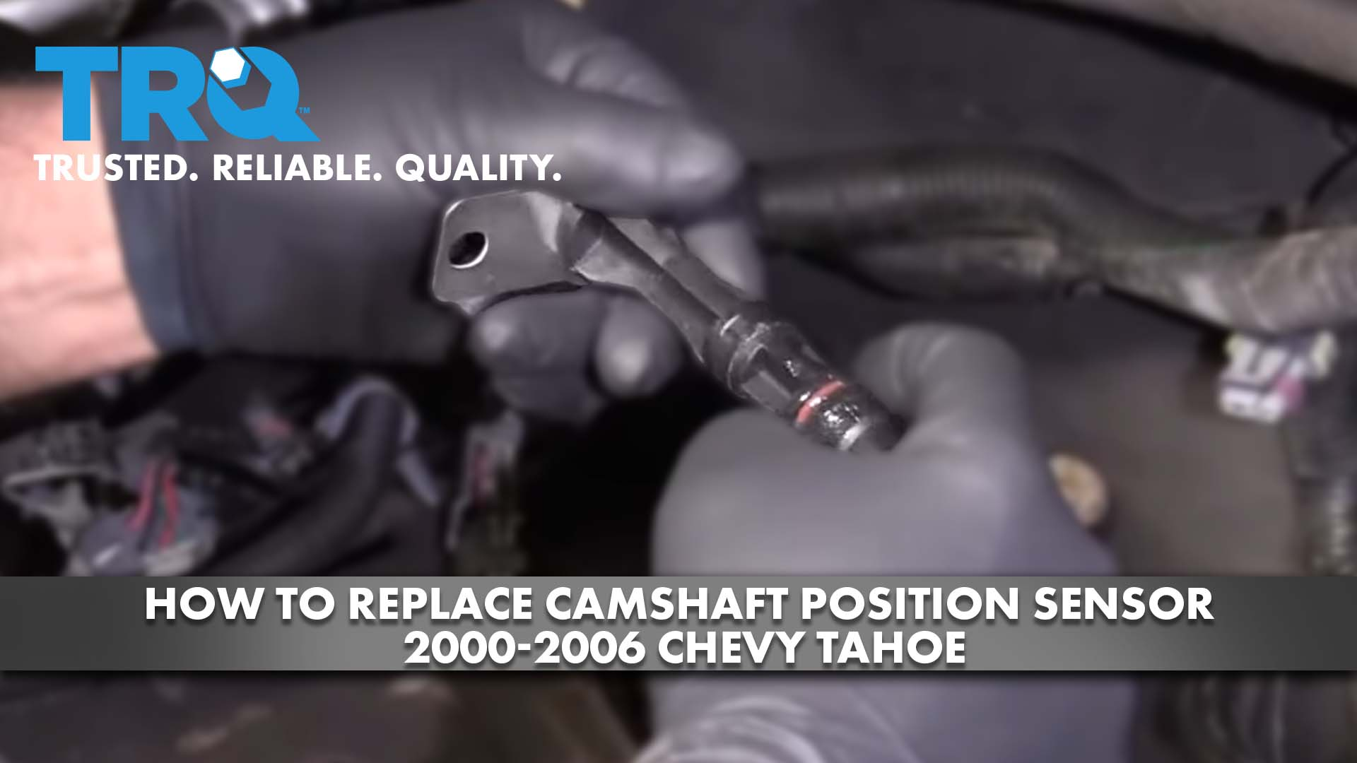 How To Replace Camshaft Position Sensor 2000-06 Chevy Tahoe