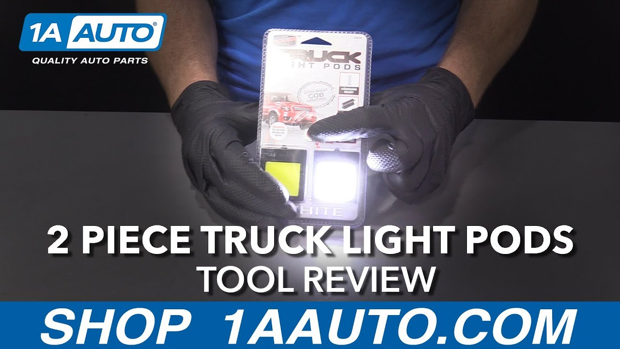2 Piece Truck Light Pods - Available at 1aauto.com