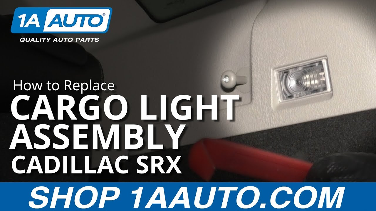 How to Replace Cargo Light Assembly 10-16 Cadillac SRX