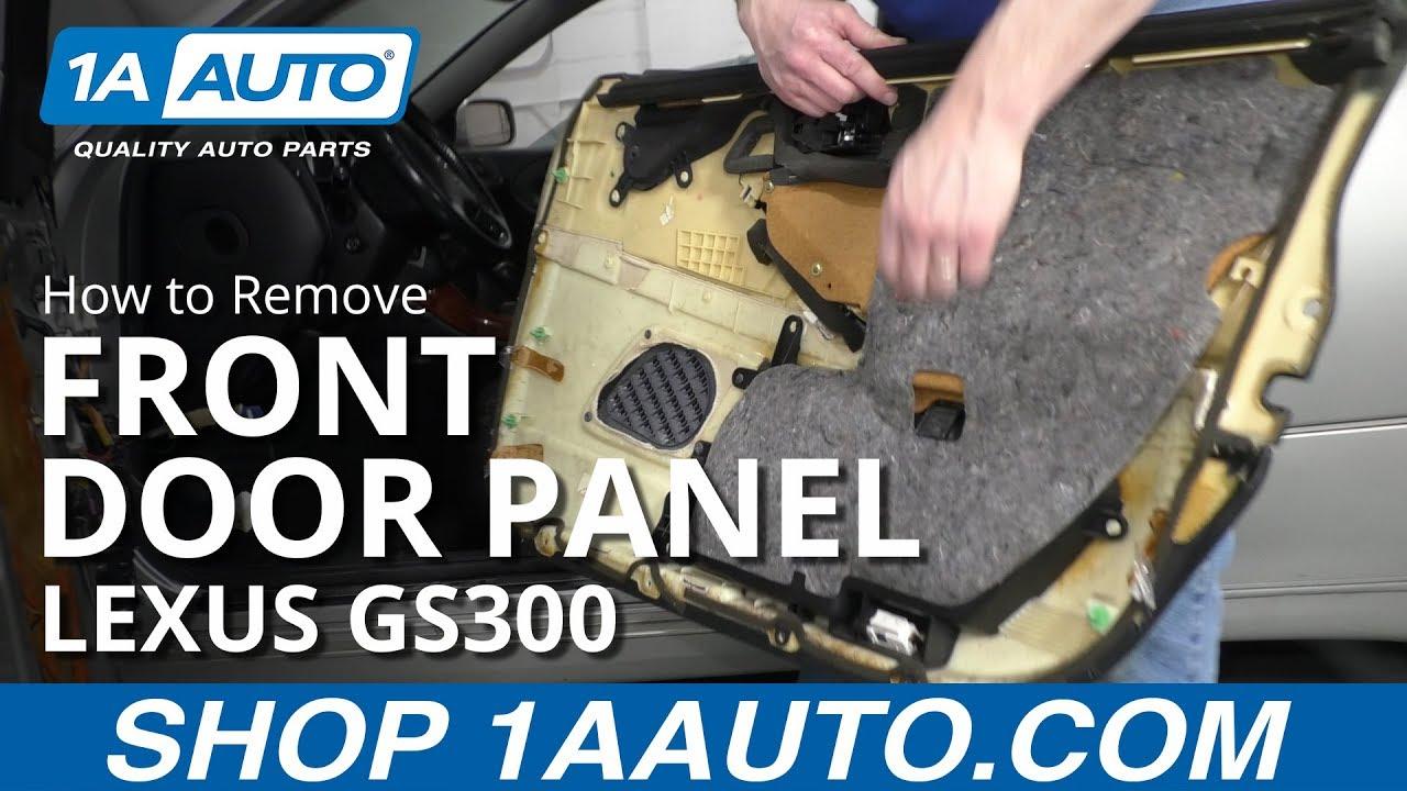 How to Remove Front Door Panel 97-05 Lexus GS300