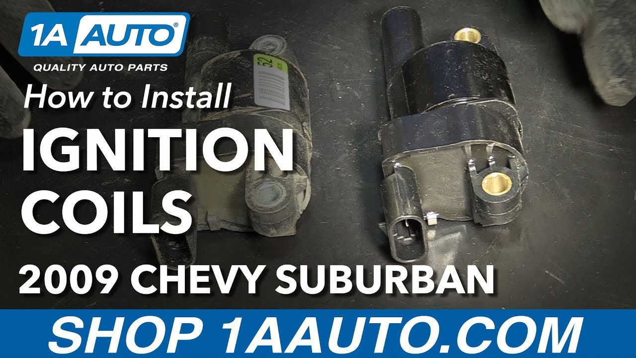 How to Replace Ignition Coils 07-14 Chevy Suburban 1500