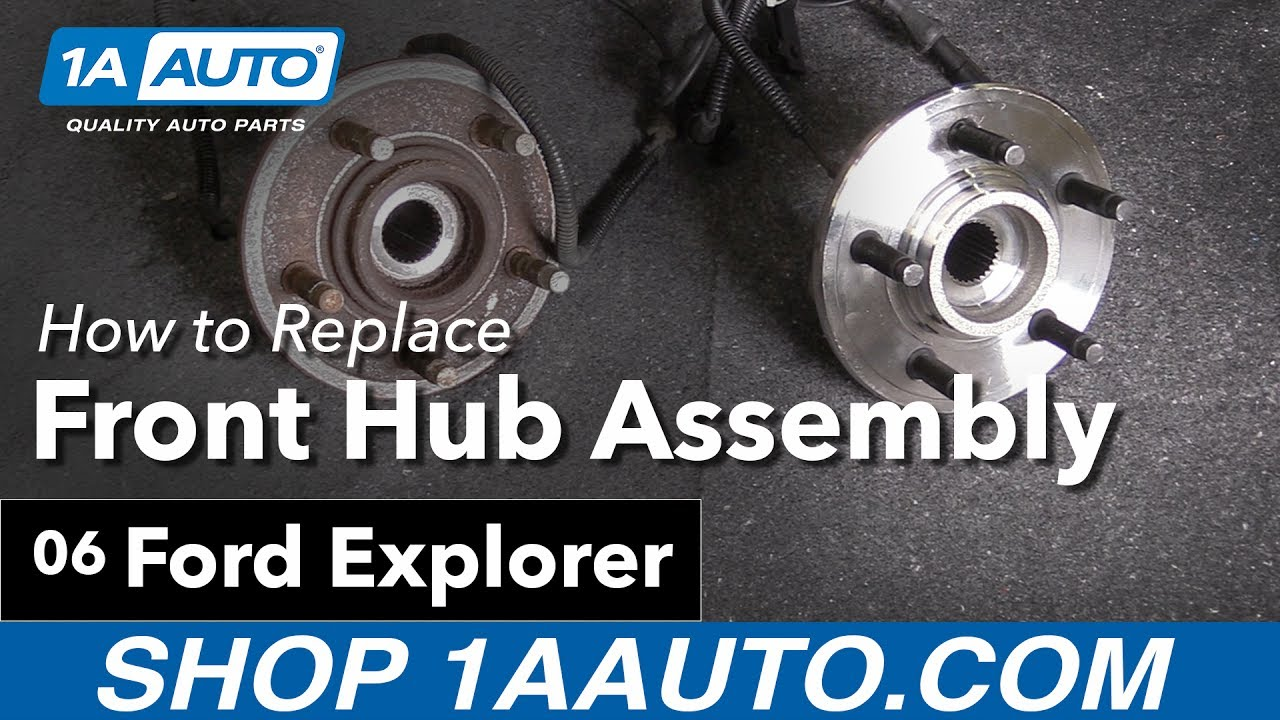 How to Replace Front Hub Assembly 06-10 Ford Explorer
