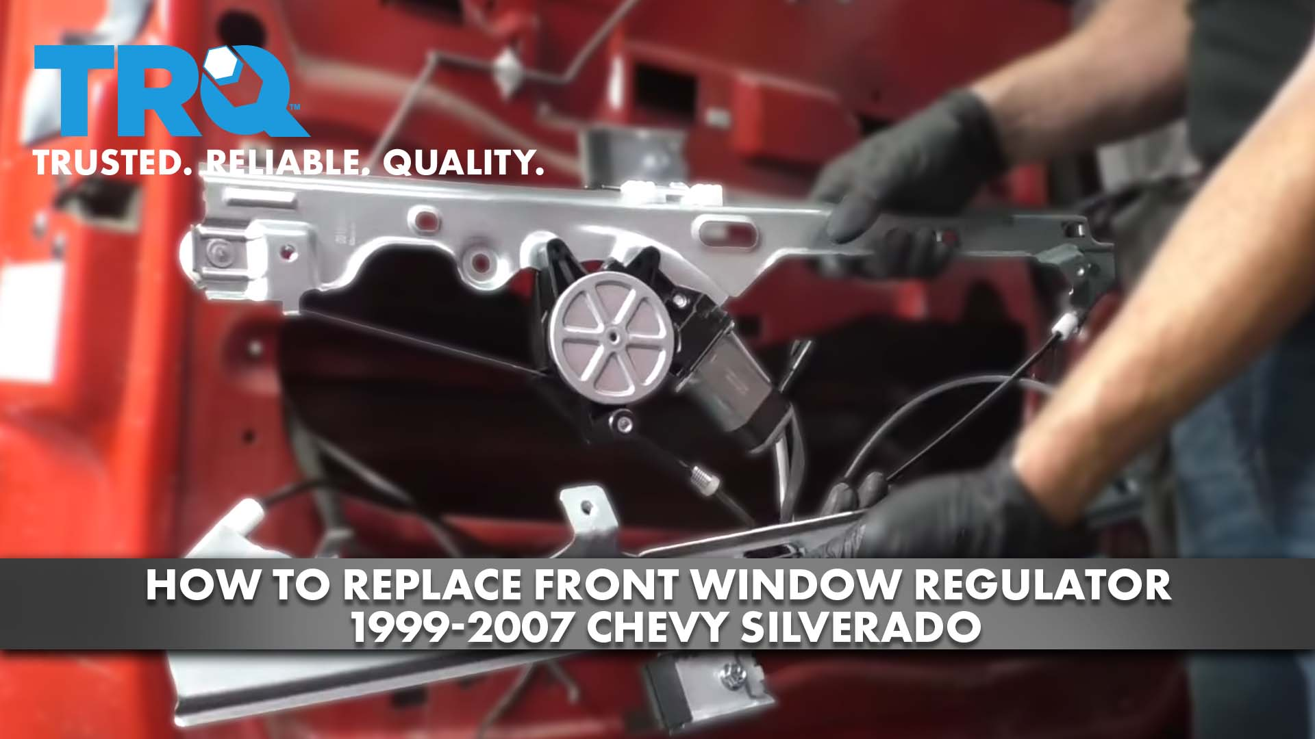 How to Replace Front Window Regulator 1999-07 Chevy Silverado
