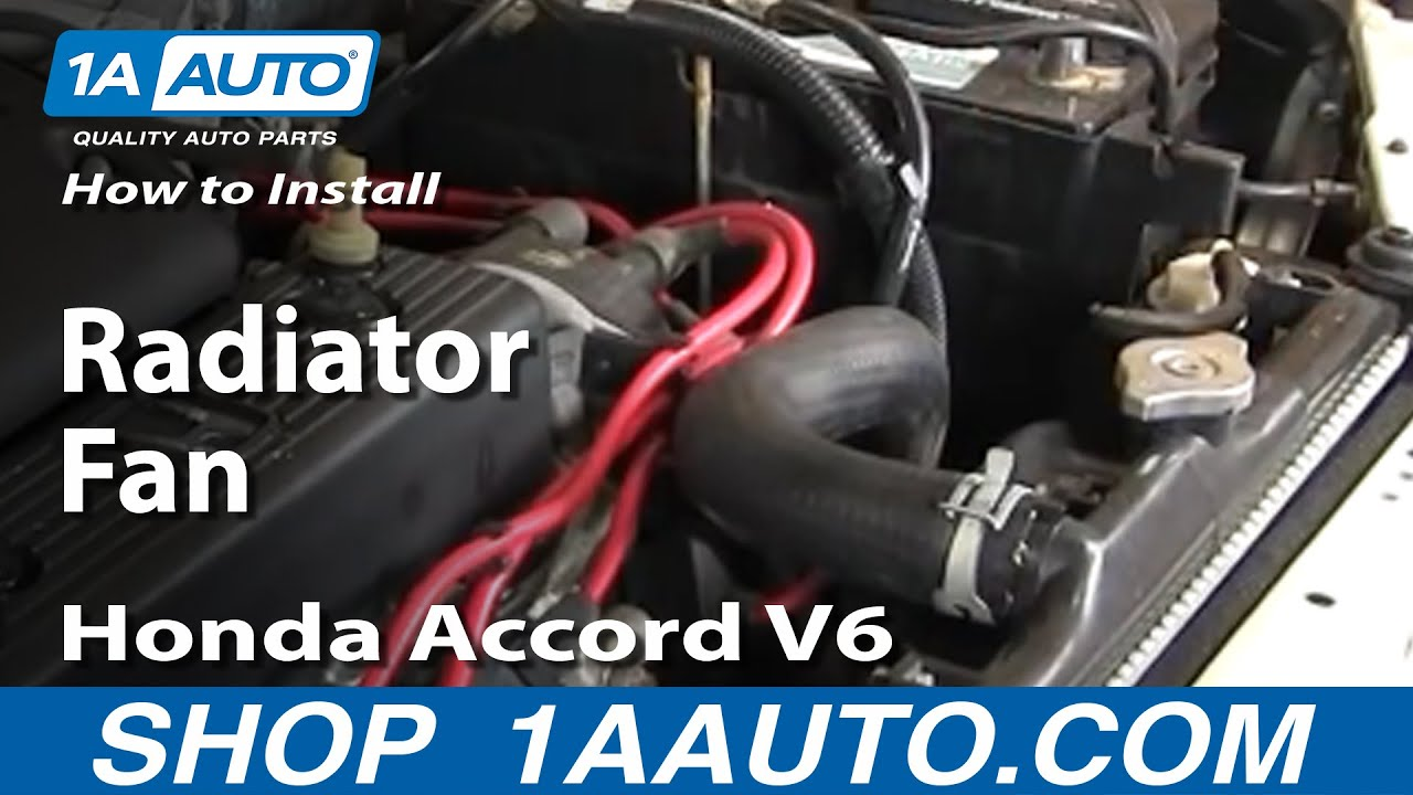 How to Replace Radiator Cooling Fan Assembly 94-97 Honda Accord