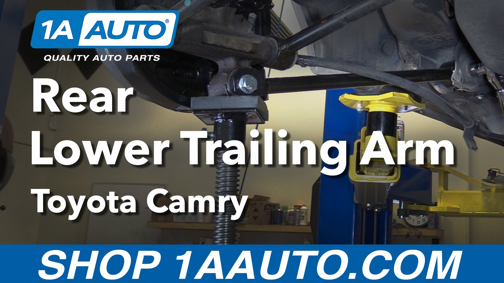 How to Replace Lower Trailing Arm 92-01 Toyota Camry
