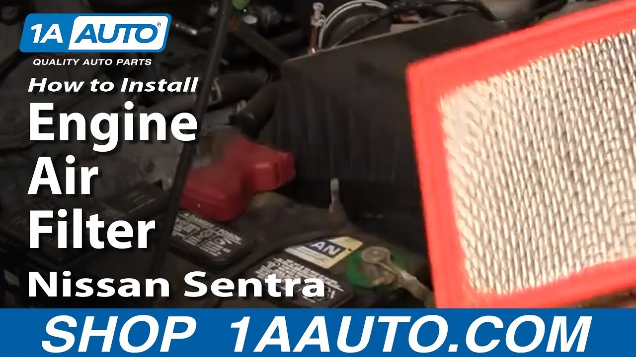 How to Replace Air Filter 91-06 Nissan Sentra
