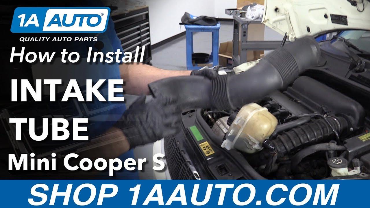 How to Install an Intake Tube 07-13 Mini Cooper S