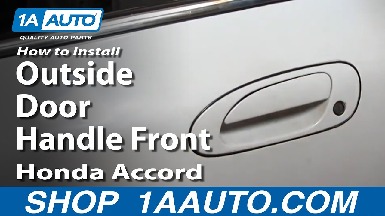 How to Replace Exterior Door Handle 94-97 Honda Accord