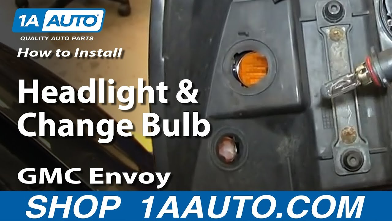 How to Replace Headlight 02-06 GMC Envoy XL