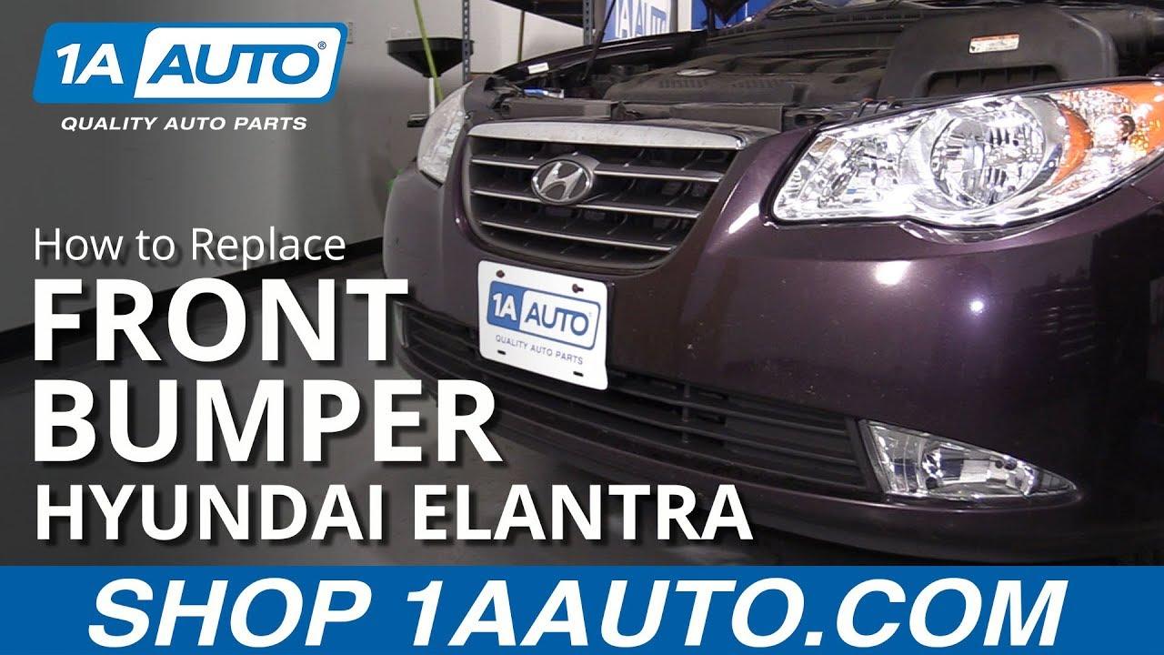 How to Remove Bumper Cover 07-10 Hyundai Elantra