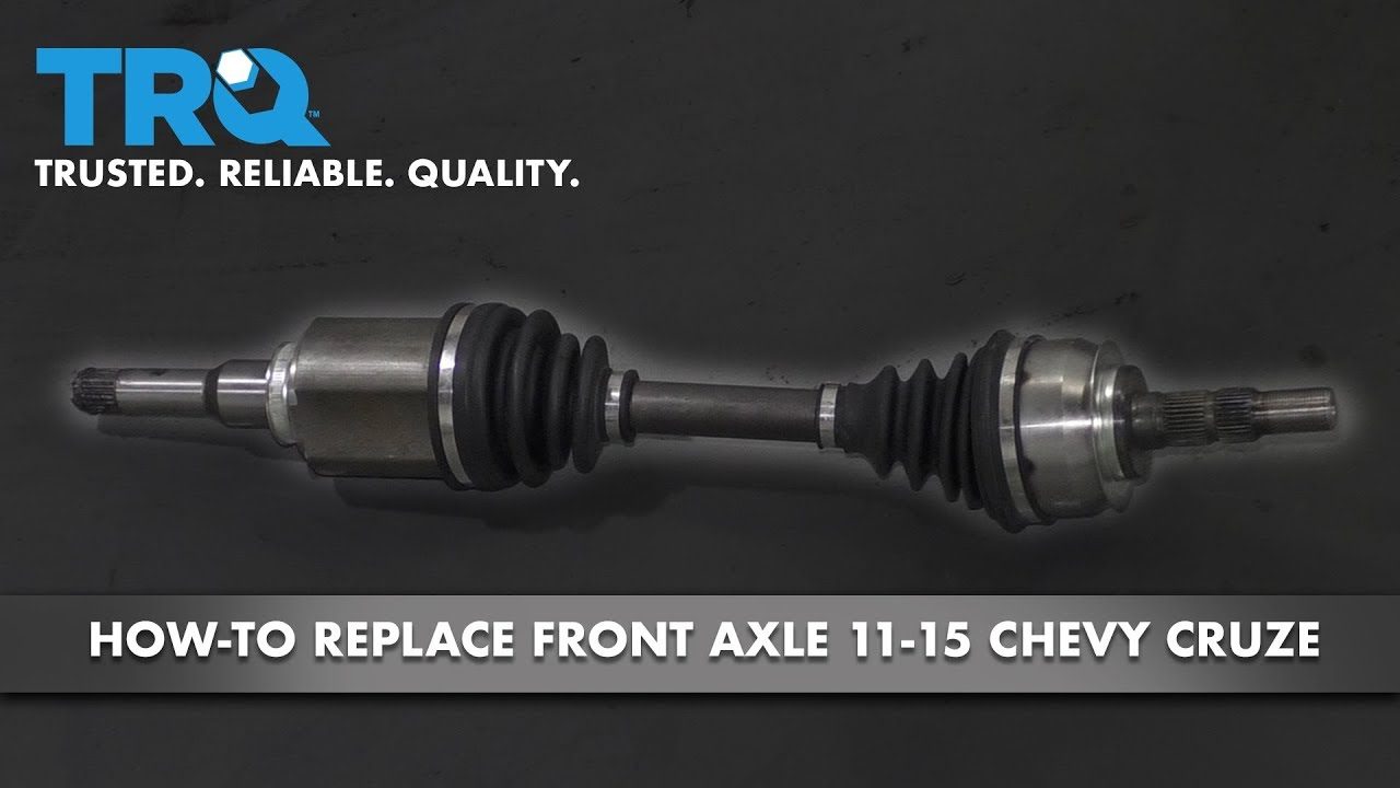 How to Replace Front Driver Side CV Axle 11-15 Chevy Cruze