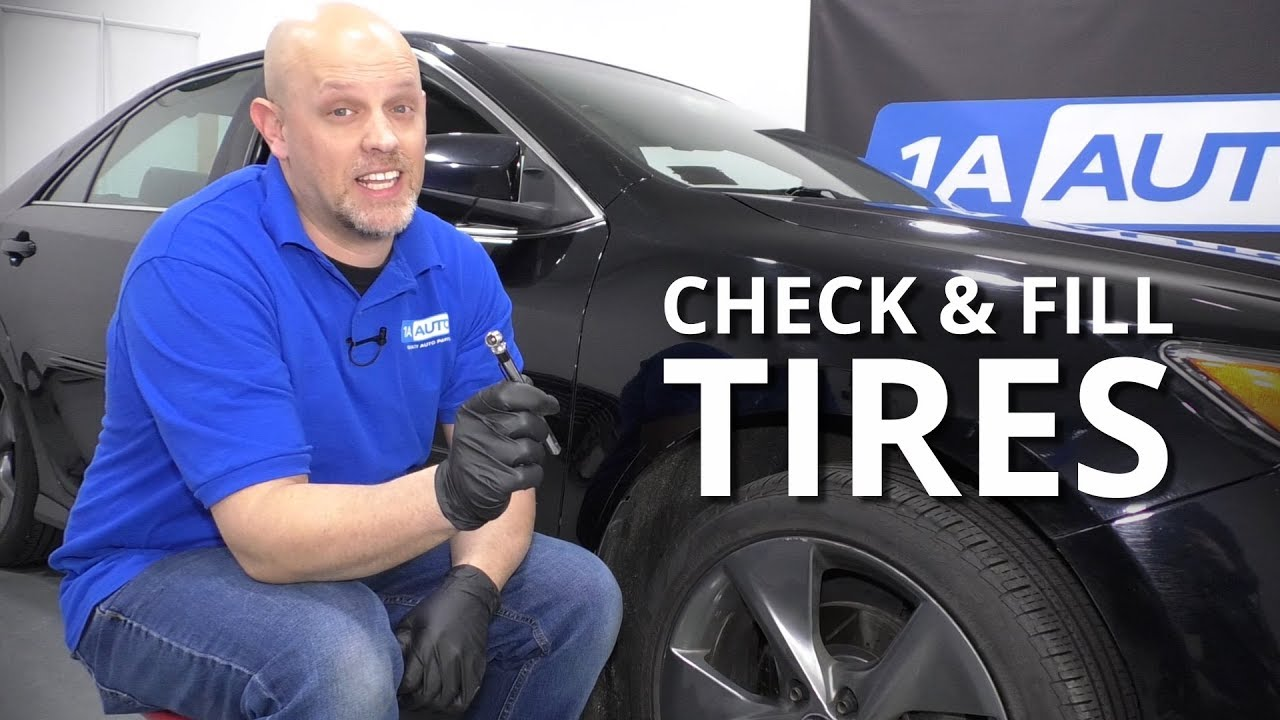 How to Properly Check and Fill Tires on Your Car