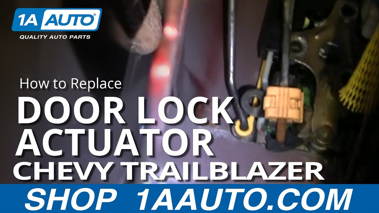 How to Replace Door Lock Actuator 02-06 Chevy Trailblazer